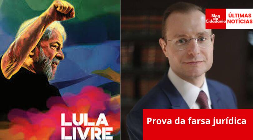 Camapnha Lula Livre/reprodução facebook