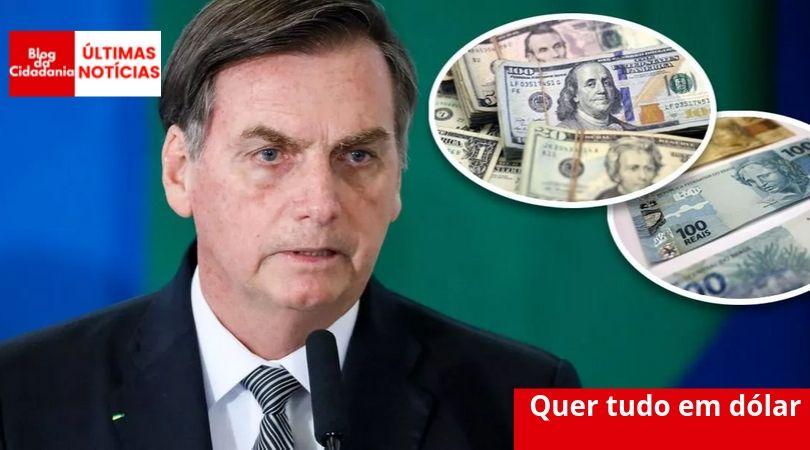 Banco Central quer abrir espaço para dolarização da economia