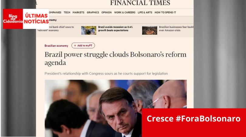 reprodução Financial Times/Reuters